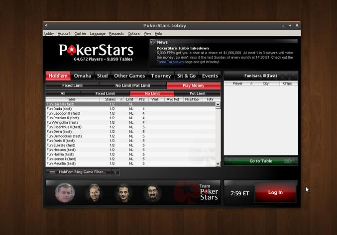 Aprendendo a jogar poker online