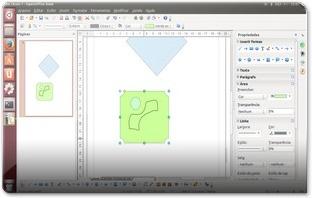 OpenOffice 4 e a aplicação de desenho