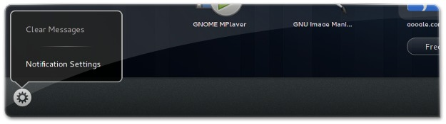 Gestão de notificações do Gnome 3.10