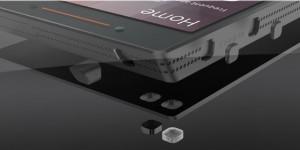Ubuntu Edge modelado em 3D