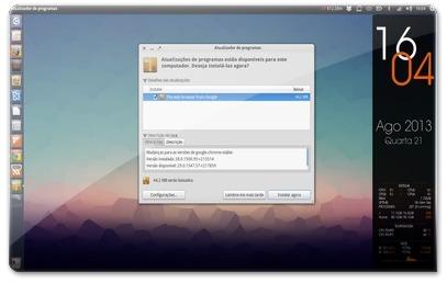 Atualizando o Google Chrome no Ubuntu