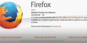 Firefox 23 no Ubuntu 13.04