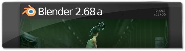 Lançado o Blender 2.68