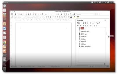 LibreOffice 4.1 com os FlatIcons