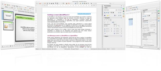 LibreOffice 4.1 no Ubuntued