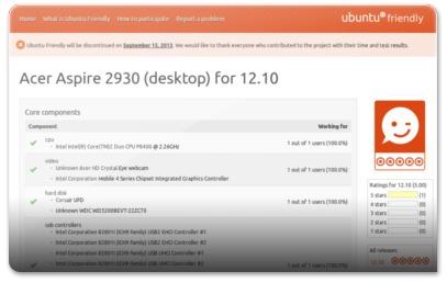 Ubuntu Friendly - Acer