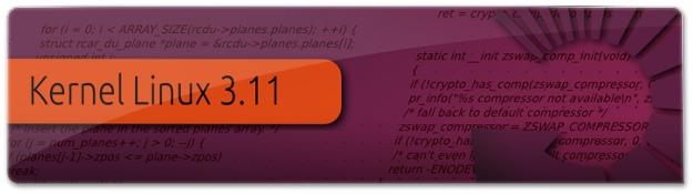 Lançado o Kernel Linux 3.11