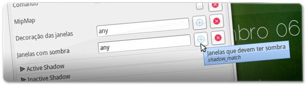 Opção que define que janelas devem ter sombras no Ubuntu