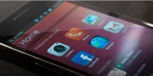 Ubuntu Touch a funcionar com o MIR num smartphone