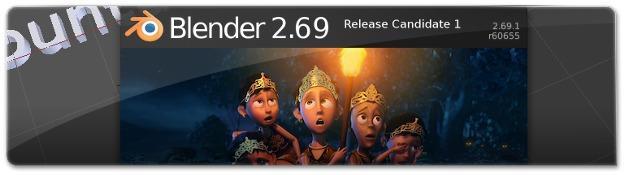 Lançado o Blender 2.69