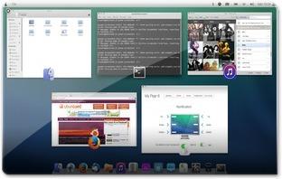 listando as aplicações abertas no PearOS 8