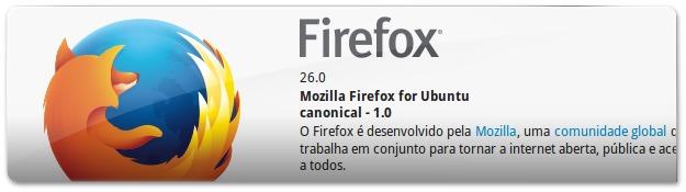 Atualize já o seu Firefox 26 no Ubuntu